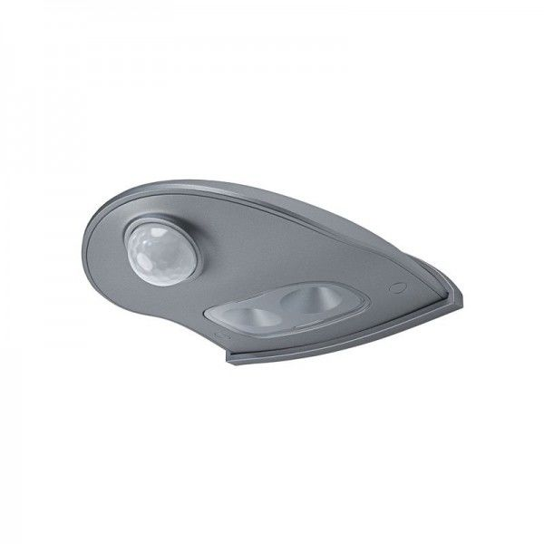 Osram LED Wandleuchte DoorLED Down 0,95W/840 40lm kaltweiß nicht dimmbar silber IP54