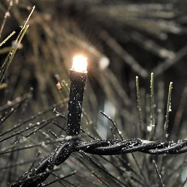 SONDERPOSTEN - Konstsmide Micro LED Lichterkette inkl. Außentrafo mit 80 Dioden Gesamtlänge 2264cm w