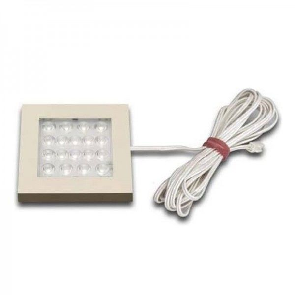 Hera EQ-LED 1,2W warm weiß edelstahloptik 61001201208