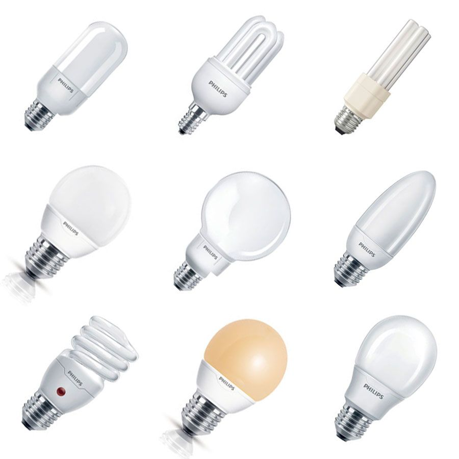 Alle Energiesparlampen
