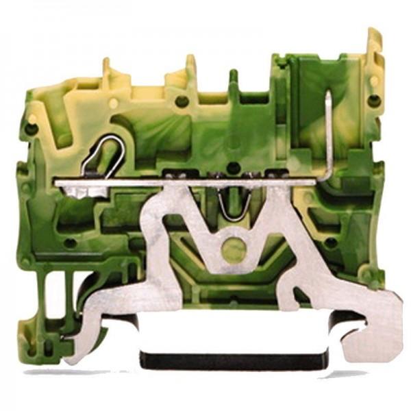 Wago 1-Leiter/1-Pin-PE-Basisklemme 2022-1207 (1 Stück)