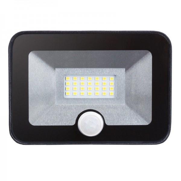 Modee LED Floodlight Ultra Slim mit Bewegungsmelder 10W/740 neutralweiß