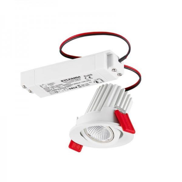 Sylvania LED Instar Eco Kit 10W/827 36° 450lm warmweiß dimmbar schwenkbar weiß