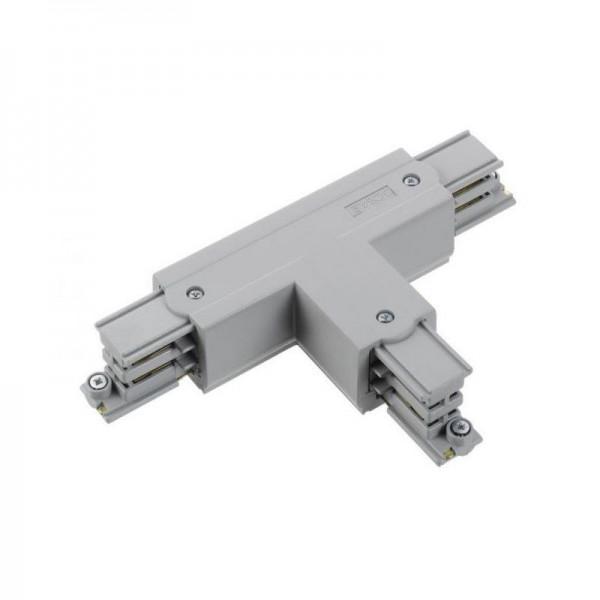 T-Verbinder mit Einspeisemöglichkeit XTS 39 grau Null außen und rechts