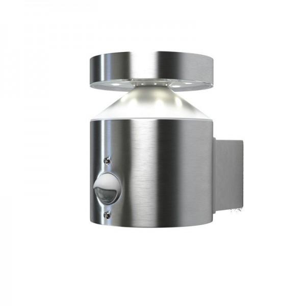 Osram LED Wandleuchte Endura Style Zylinder Sensor 6W/830 360lm warmweiß nicht dimmbar steel IP44