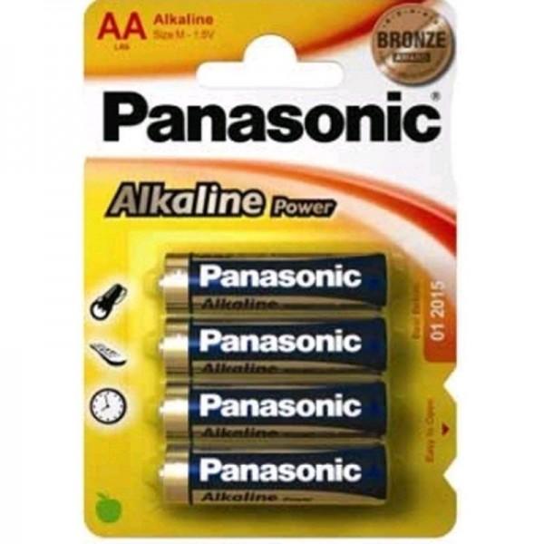 Panasonic Batterie Alkaline Power AA 1,5V 4er Blister