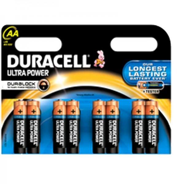 Duracell Batterien Ultra Power MX1500 AA K 8er Blister