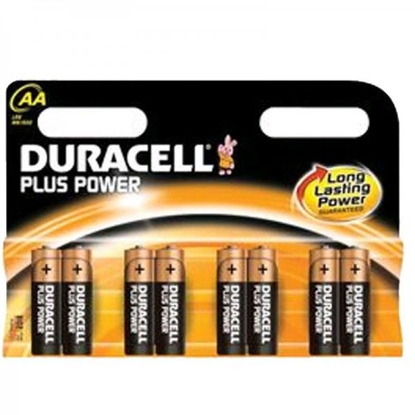 Duracell Batterien Plus Power MN1500 - AA K 8er Blister