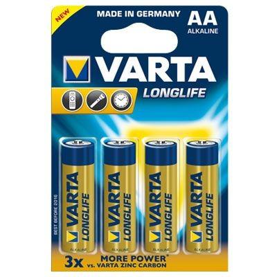 Varta Batterien Longlife 4106 AA 4er Blister