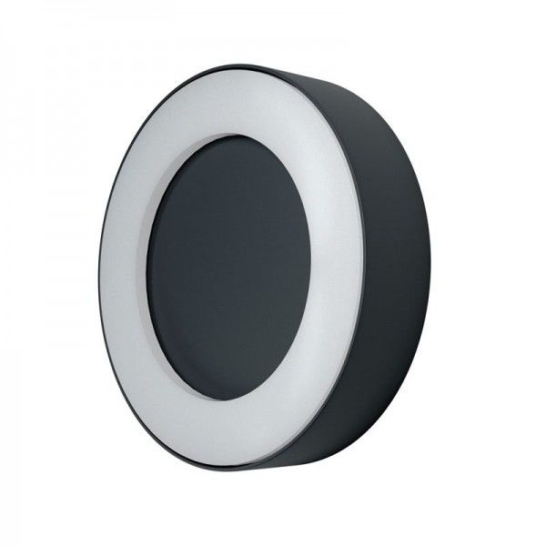 Osram LED Wandleuchte Endura Style Ring 13W/830 480lm warmweiß nicht dimmbar dunkelgrau IP44
