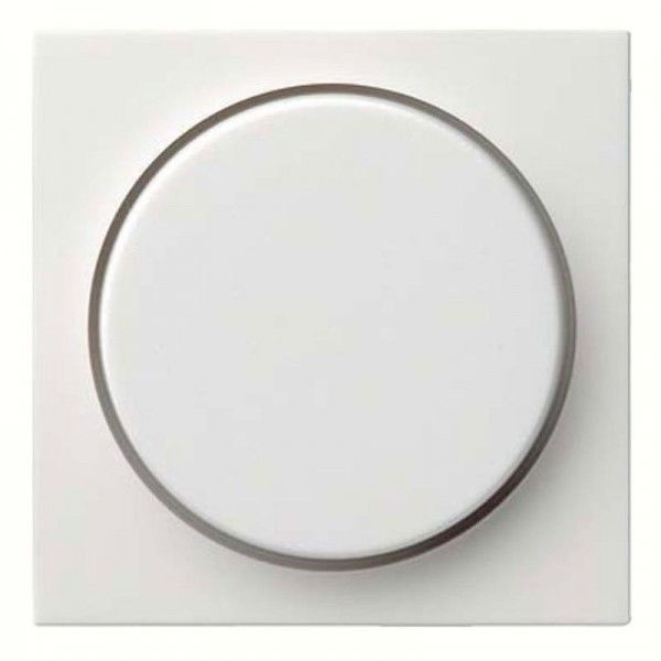 Gira Abdeckung mit Knopf für Dimmer 065003
