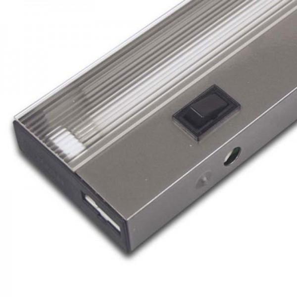 Hera MK 2 1095mm 2x13W warm weiß Gehäuse silber 50100053502
