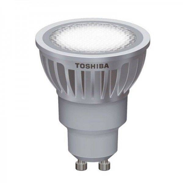 SONDERPOSTEN - Toshiba 6,5W GU10 35° 25.000h 3000K
