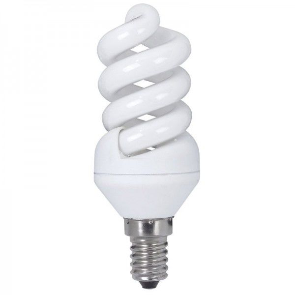 Paulmann Energiesparlampe Spirale 9W E14 Warmweiß