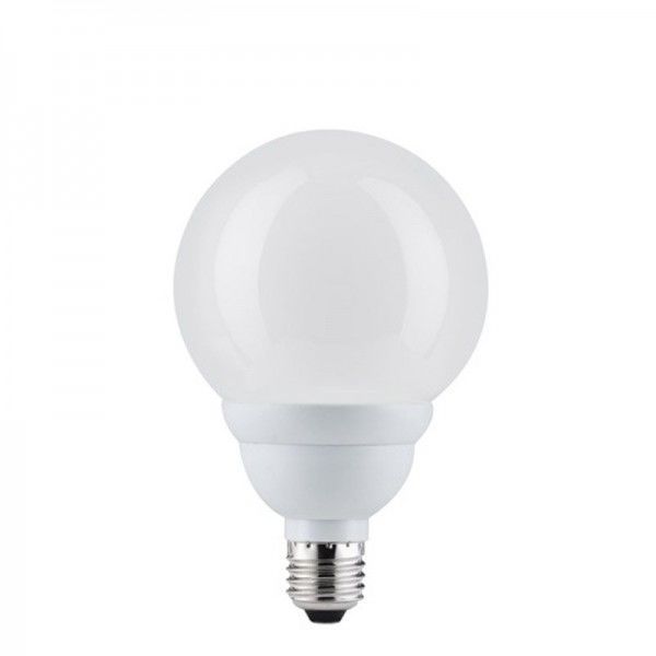 Paulmann Energiesparlampe Globe 110 Opal E27 20W Warmweiß