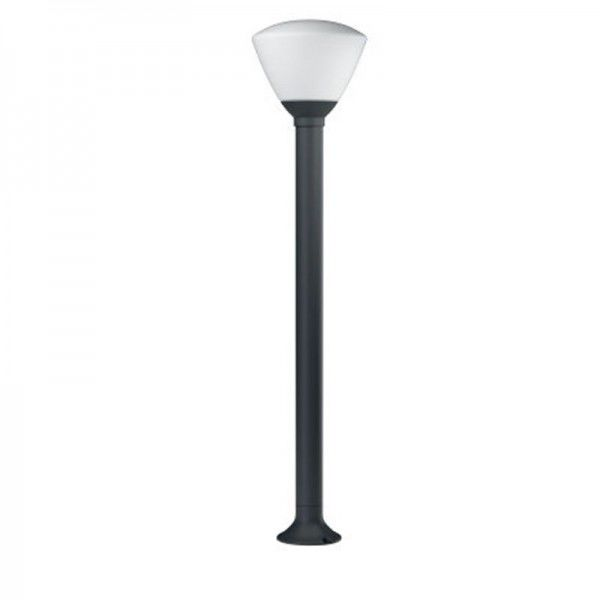 Osram LED Bodenleuchte Endura Style Lantern Bowl 92cm 7W/830 400lm warmweiß nicht dimmbar dunkelgrau IP44