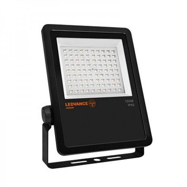 Ledvance Floodlight LED 150W/4000K Asymetrical Black IP65 15000lm kaltweiß nicht dimmbar